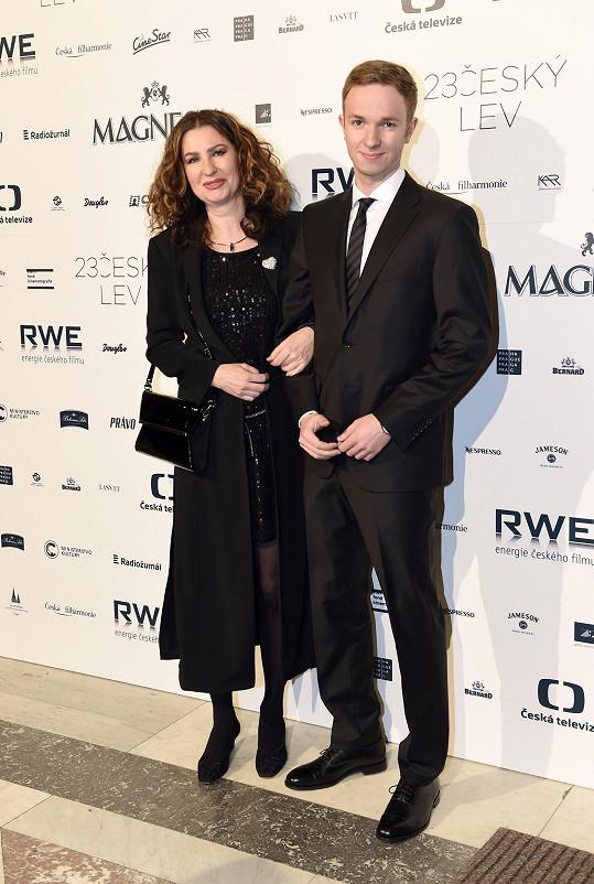 Irena Pavlásková a její syn David