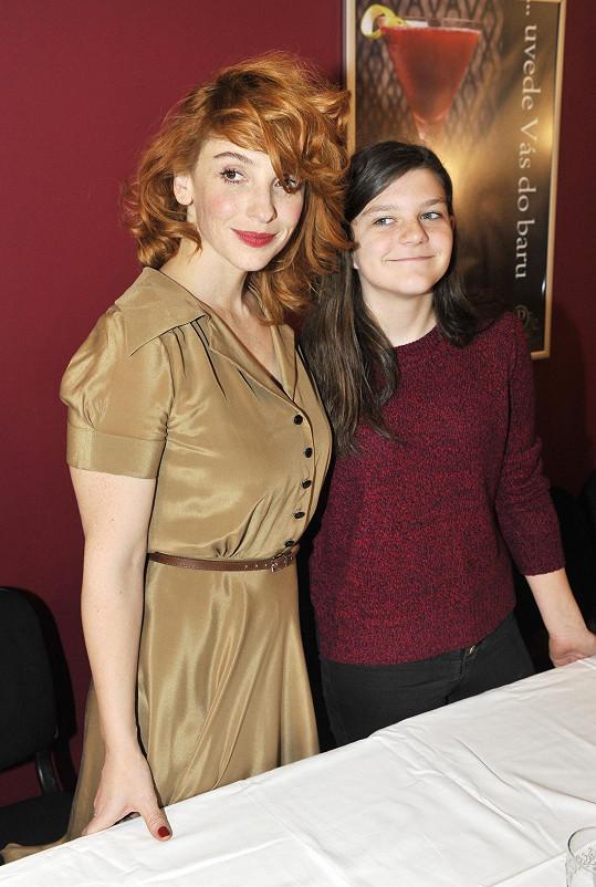 S filmovou dcerou Aničkou Čtvrtníčkovou