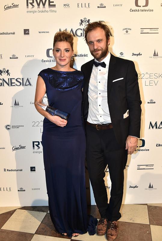 Lenka s manželem