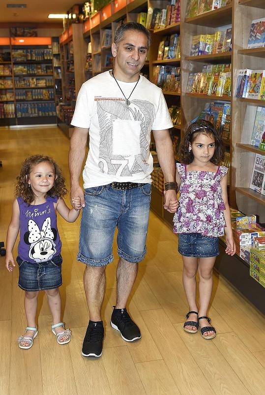 Vlasta s dcerami