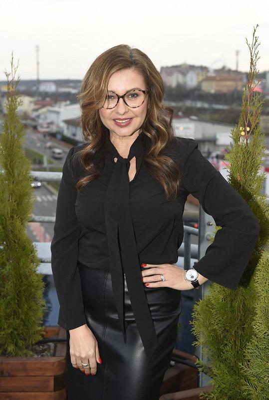 Dana Morávková vyprávěla o seriálech i další práci.