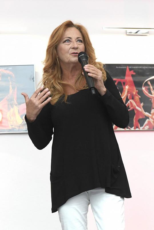 Simona Stašová se pustila do nového projektu.