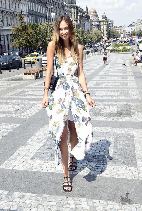 Lea Šteflíčková je úřadující královnou krásy.