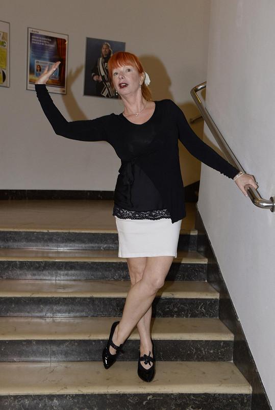 Bára Štěpánová v Divadle Broadway