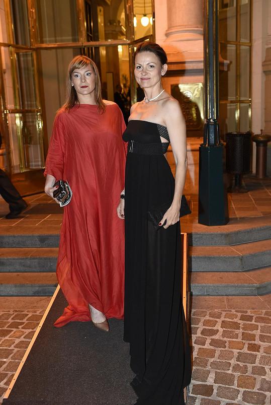 Lenka s kolegyní Klárou Melíškovou