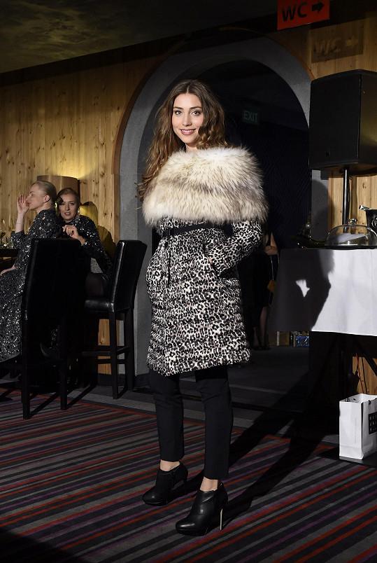 Na párty byla i modelka Denisa Domanská.
