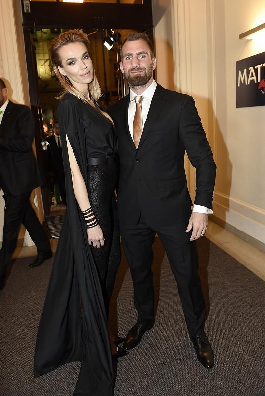 Hanka s manželem Andrém Reindersem