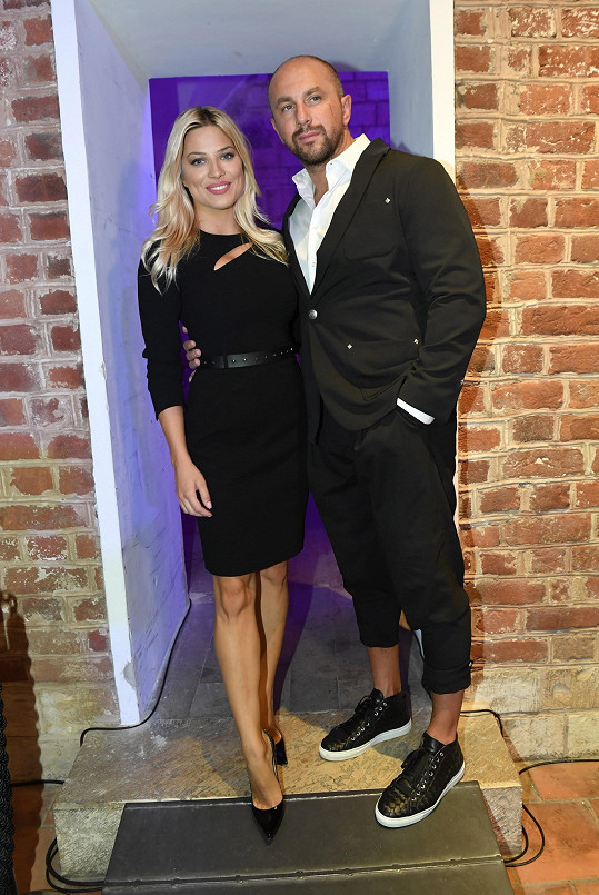 Eva se svým partnerem Ivanem