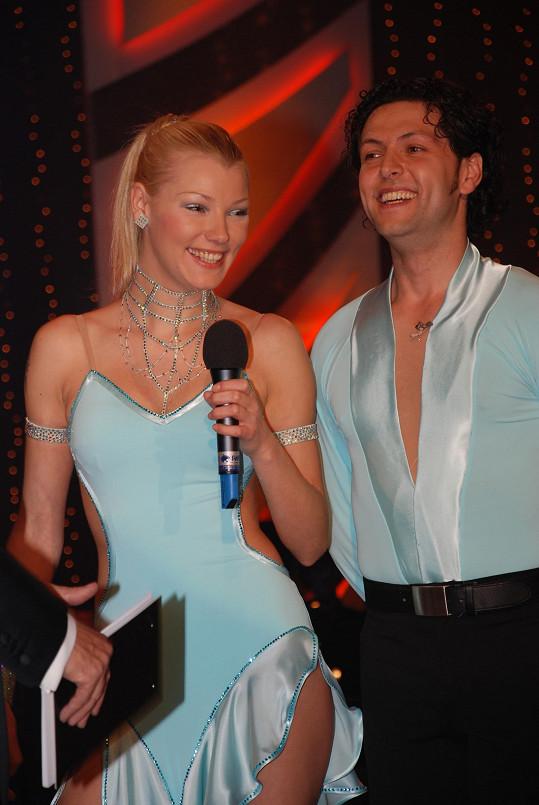 Helena Zeťová s Eduardem Zubákem vypadli jako první.