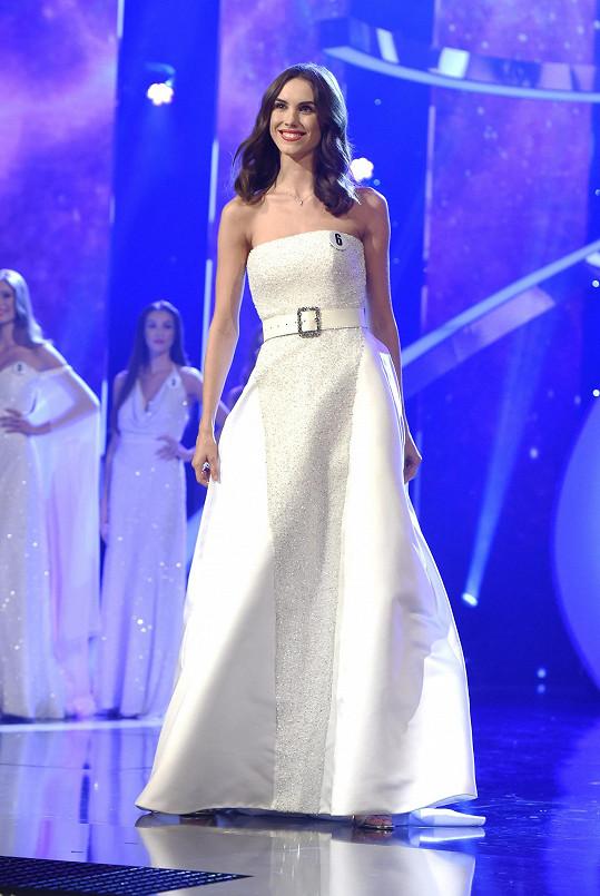 Barbora na finále České Miss