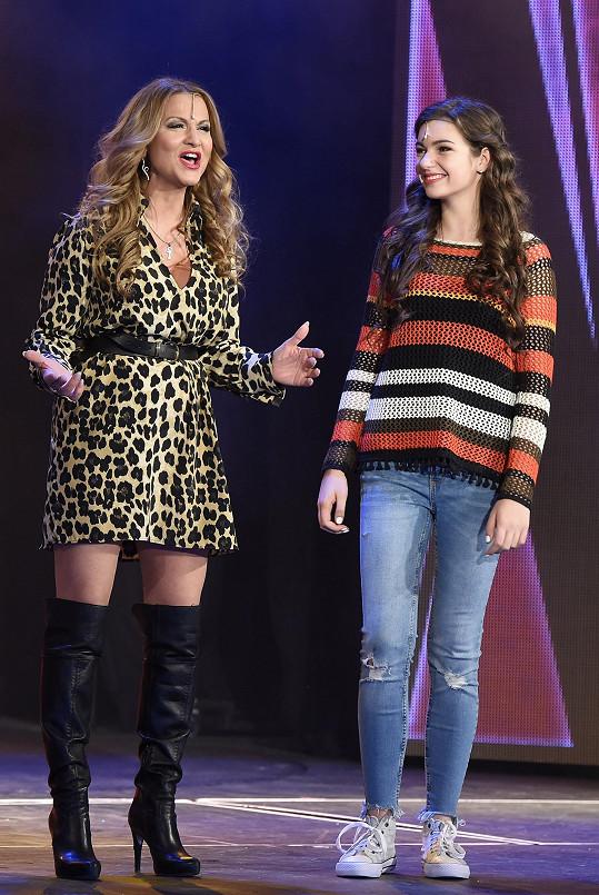 S muzikálovou dcerou Nelly Řehořovou