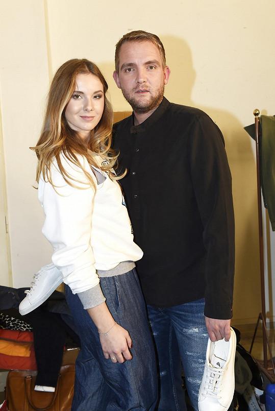 Libor s Gábinou v zákulisí módní show v Brně
