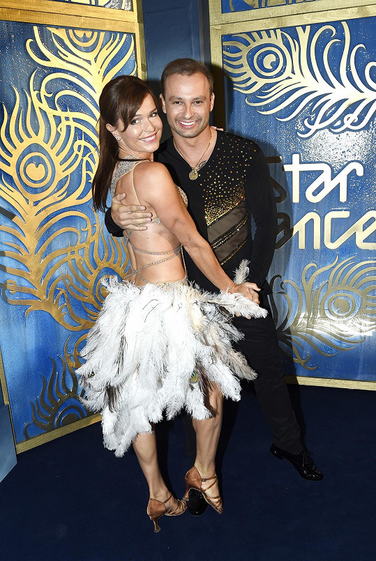 Olgu Šípkovou si vzal do parády Marek Dědík, který loni tančil s Jitkou Schneiderovou.