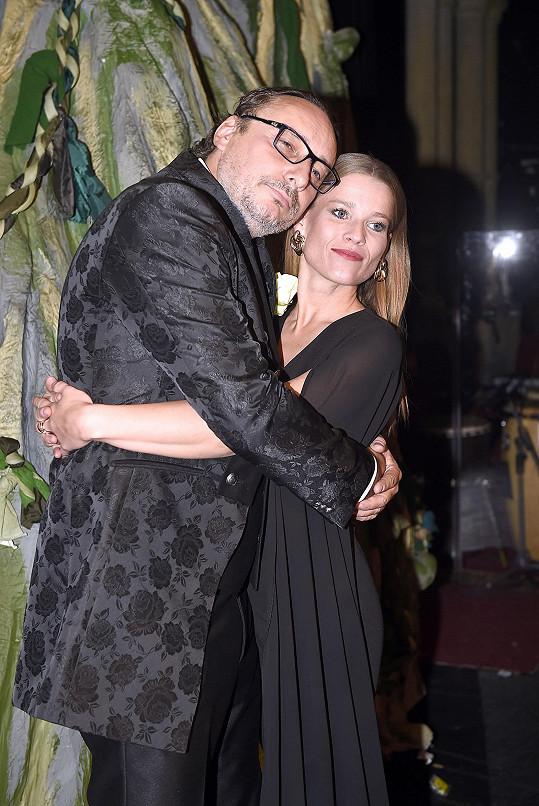 S kolegou Marianem Vojtkem, jenž hraje gorilího samce Kerchaka, premiéru uvedli.
