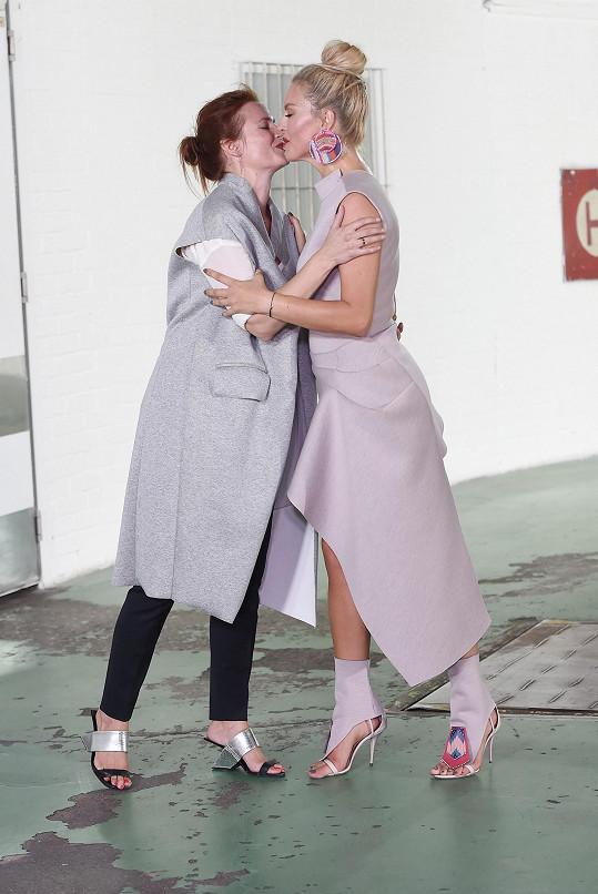 Přehlídka Kateřiny Geislerová byla událostí této edice módního týdne.