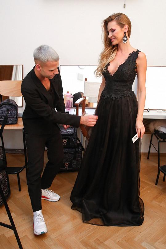 Andrea vytváří svou kolekci ve spolupráci s Michalem Markem.