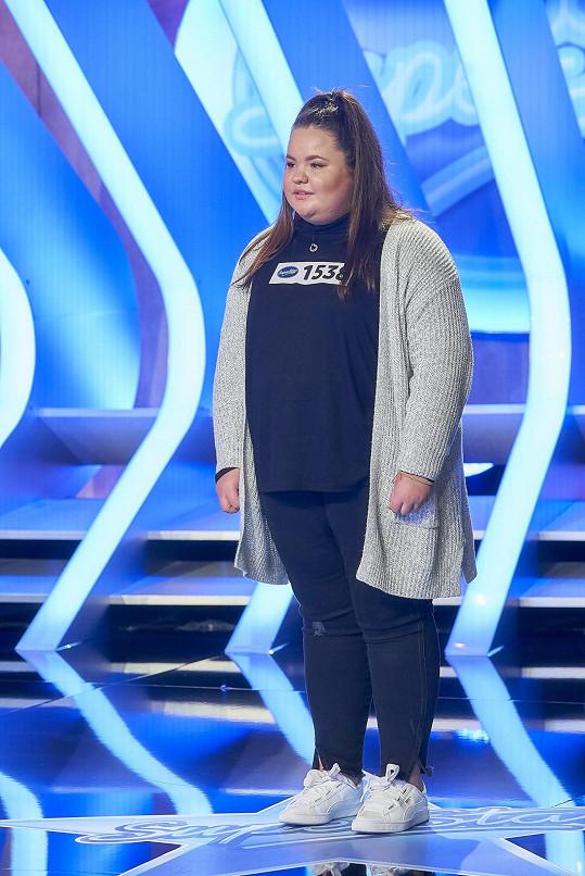 Adéla chce zhubnout. Motivací je pro ni i pěvecká show, do níž se přihlásila.