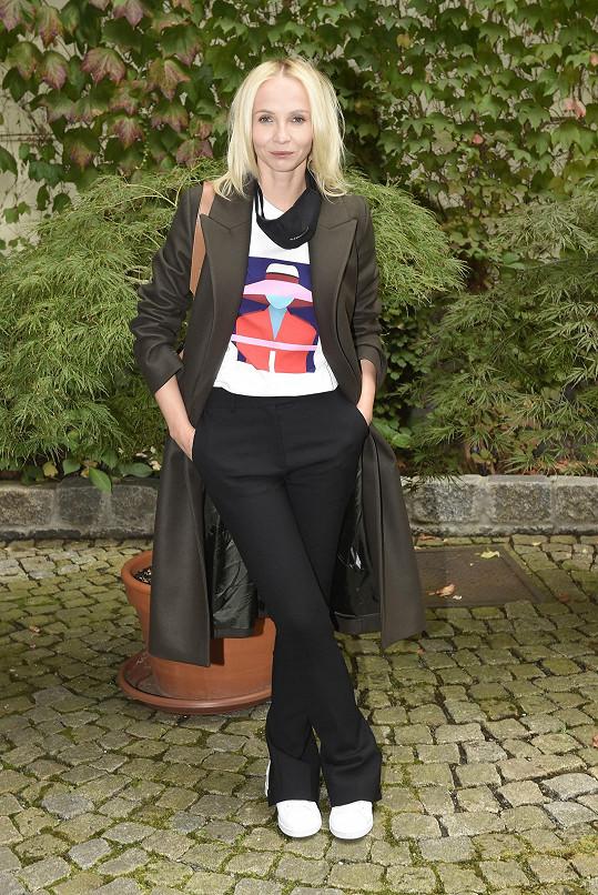 Jana Plodková bude následující týdny zřejmě trávit na chalupě.