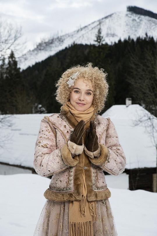 Tereza Ramba se představí jako hvězda Denička na Štědrý den.