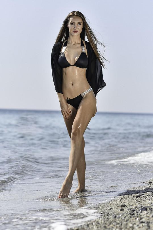 Taťána Makarenko vyrazila na soustředění své soutěže krásy Miss Face do Itálie.