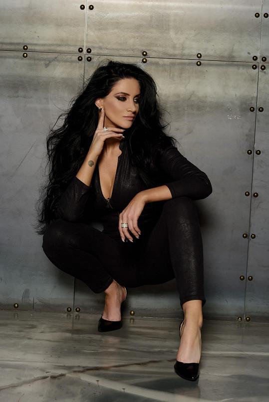 S fotografem Danielem Zahrádkou spolupracovala již podruhé.