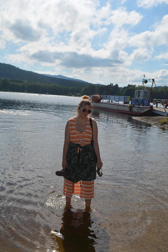 Anna Slováčková vyrazila na pár dní na Lipensko.