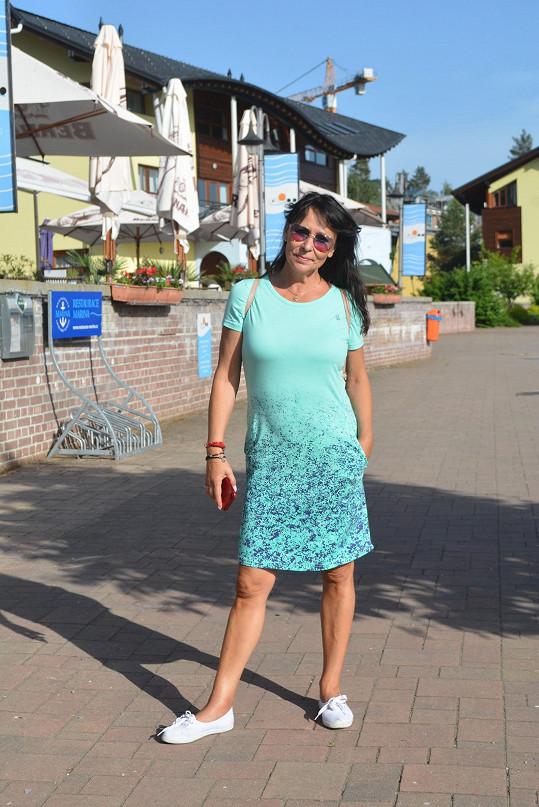 Heidi Janků vyrazila na několik dní na Lipensko.