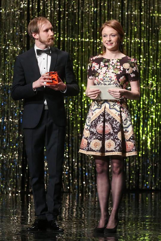 Marii velmi těšilo, že se mohla zúčastnit udílení cen Czech Grand Design.