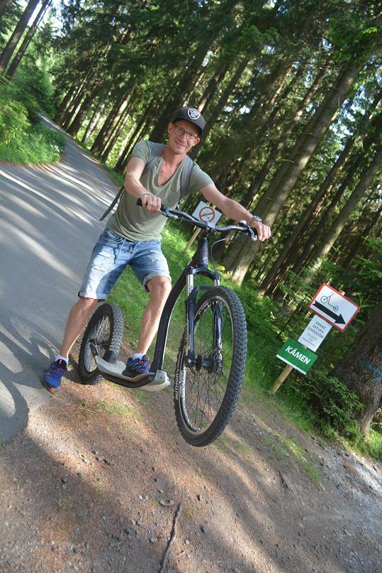 ... po jízdu a kole.