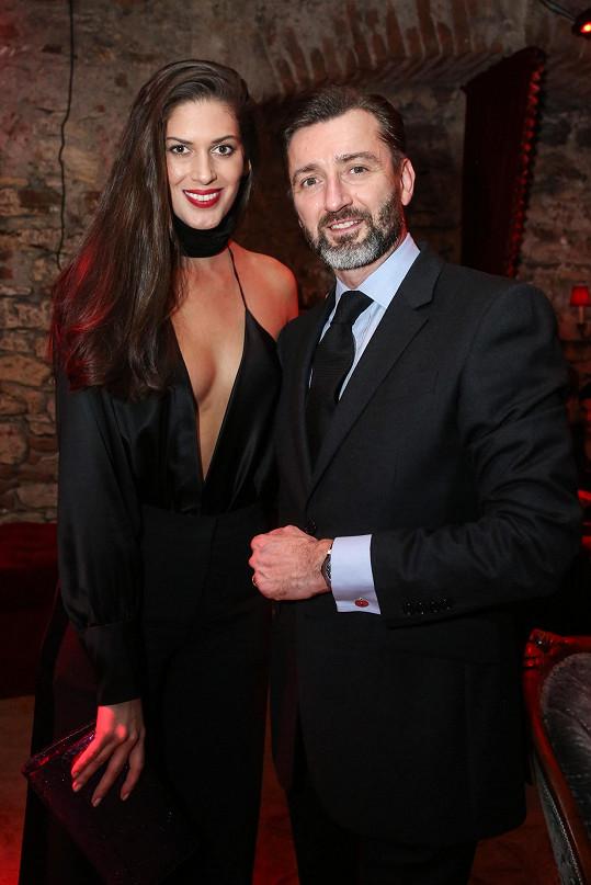 S Anetou se chtěli všichni včetně organizátora večera Benoita Lecigneho fotit.