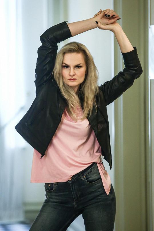 Iva Pazderková se rozpomněla na doby, kdy se věnovala modelingu.
