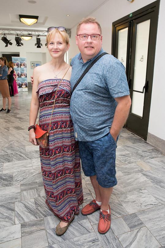 S manželkou Simonou jim to i po 37 letech soužití klape.