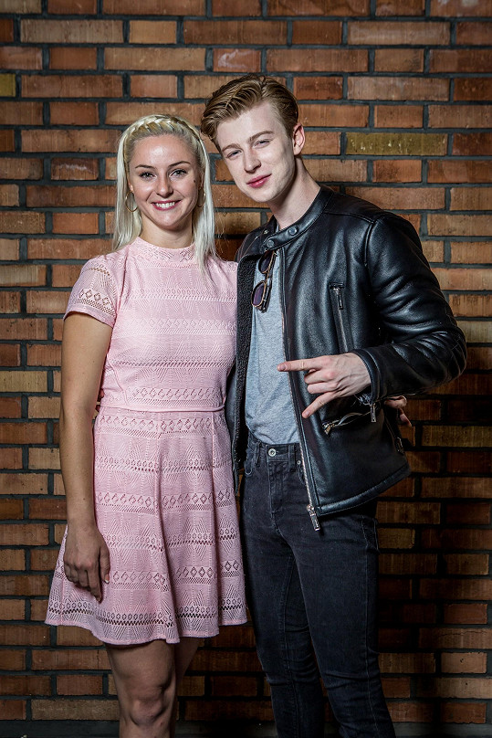 Adam Mišík a Kateřina Krakowková