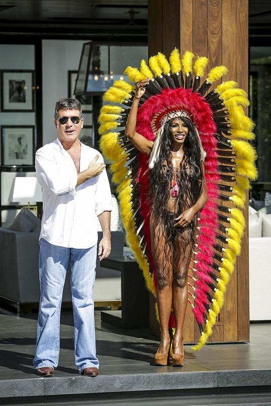 Simon Cowell si Sinittu pozval jako rádkyni.