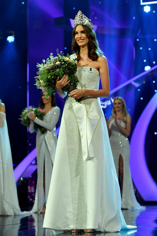 Česká Miss Barbora Hodačová