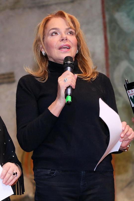 Dagmar Havlová zavzpomínala na režiséra Juraje Herze.