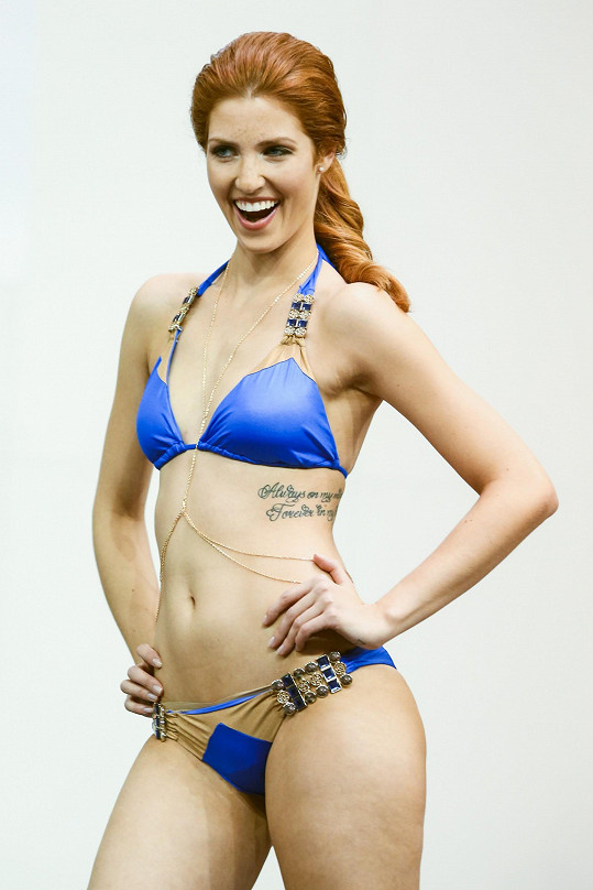 Kateřina byla finalistkou České Miss 2015.
