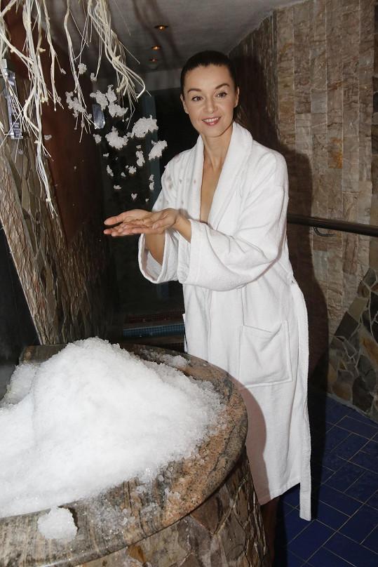 Chlazení po sauně
