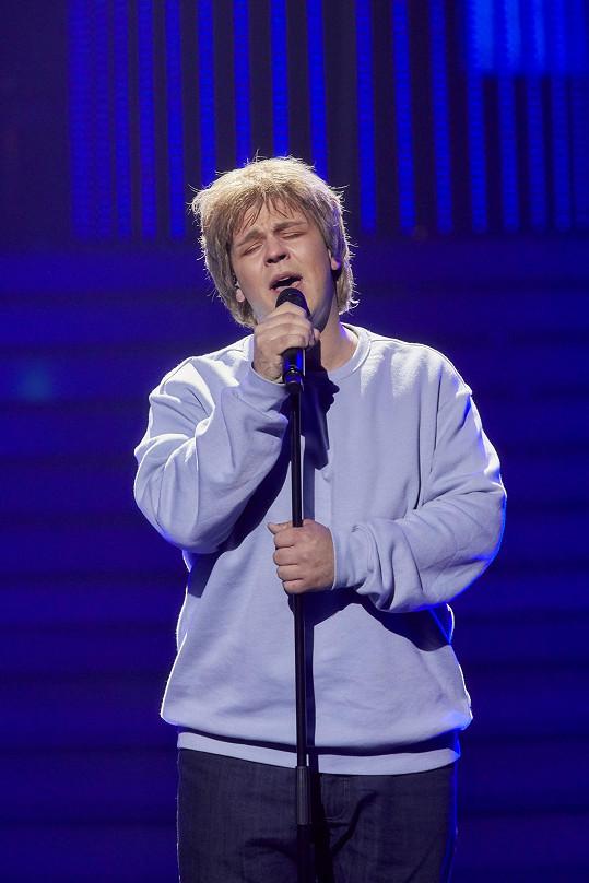 Martin Schreiner svým zpěvem tentokrát všechny dojal.