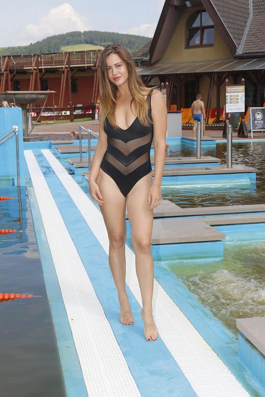 Miss ČR 2008 Jandová už má zase figuru snů.