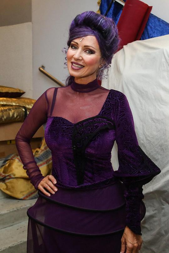 Herečka se objevila opět v roli Žofie.