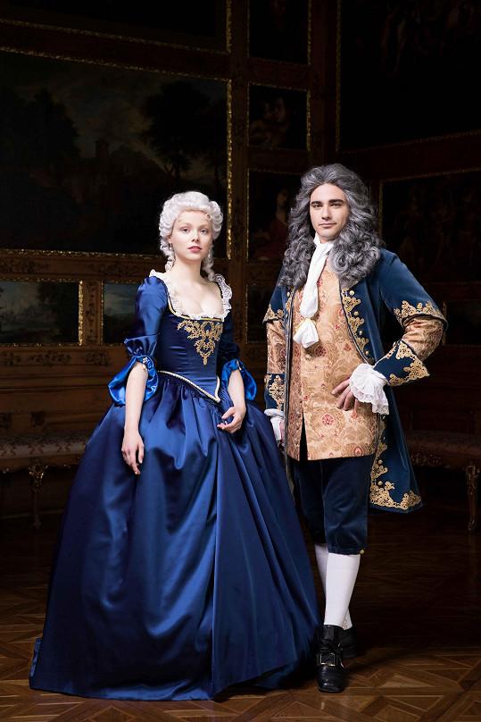 Vojta si zahrál Františka Lotrinského, manžela Marie Terezie v poádní Luisy Stockinger.
