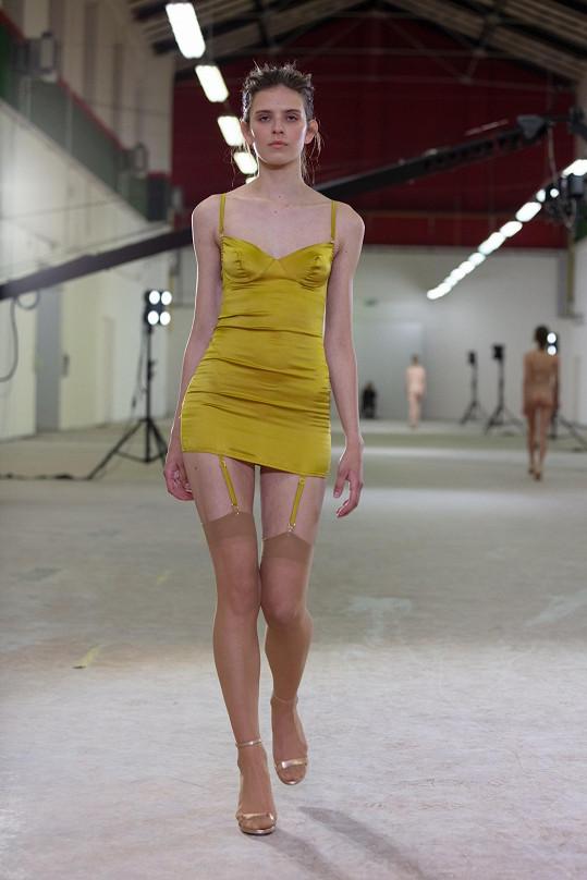 Tereza Vu se specializuje na navrhování spodního prádla.