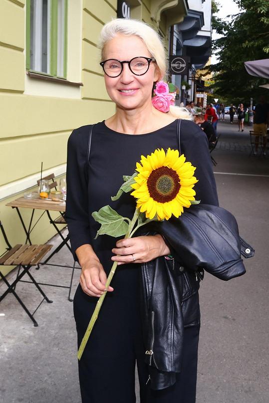 Irena Obermannová je stále velmi půvabná žena.