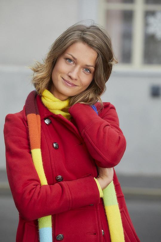 Veronika Čermák Macková ztvární barvoslepou matikářku.