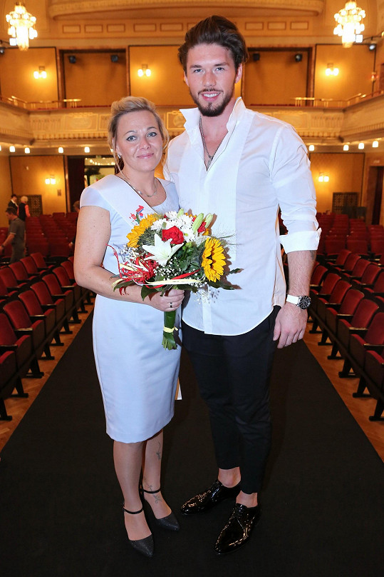 S vítězkou Martinou Pěnkavovou se vyfotil.