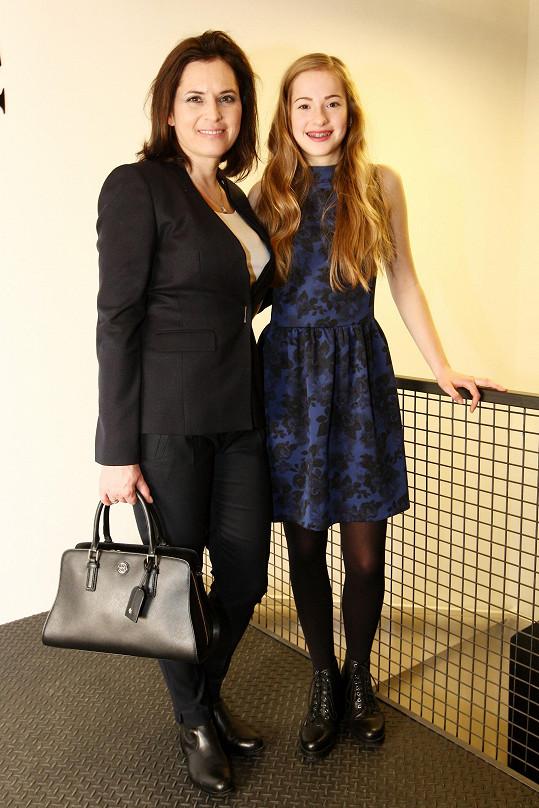 Bára Kodetová s dcerou Lily