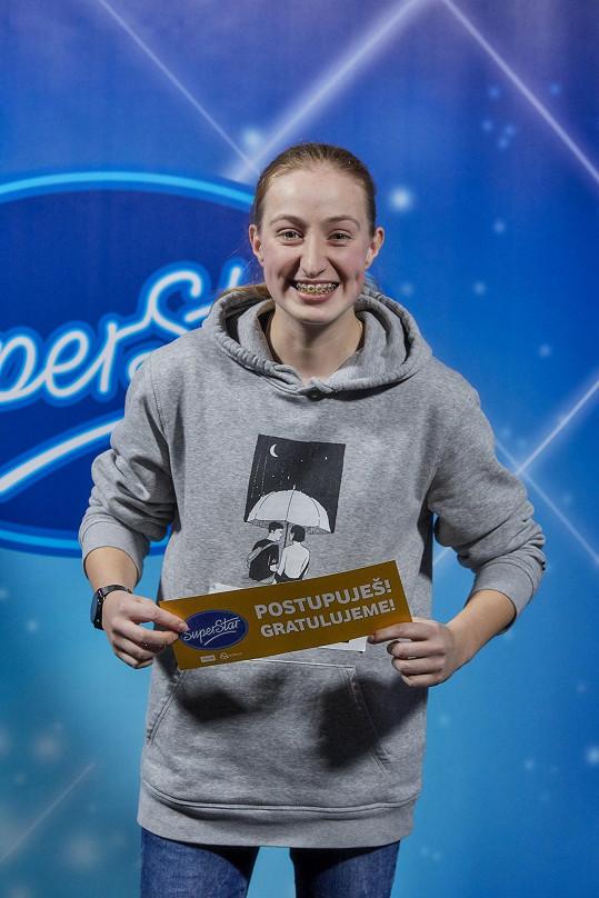 Barbora Piešová se dostala do Top 18 a usiluje o finále letošní SuperStar.