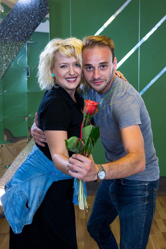 Dalším párem StarDance jsou Miluše Bittnerová a Michal Necpál.