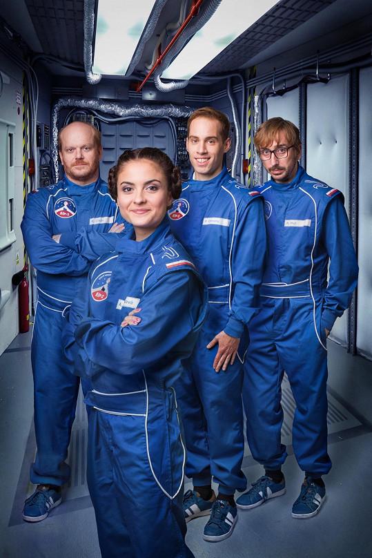 Díky seriálu se Josefíková podívala do vesmíru.